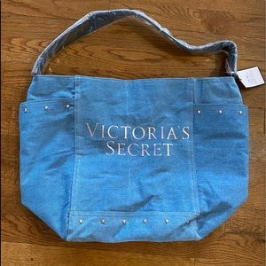 Victoria's Secret Denim Shoulder bag.